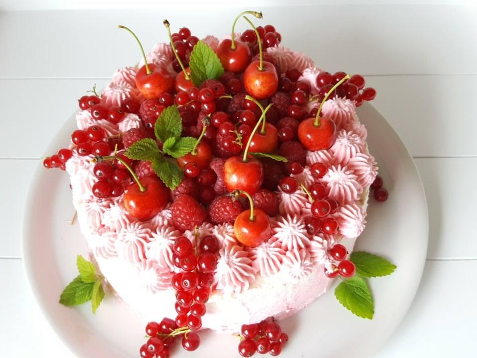 Himbeer-Quark Torte