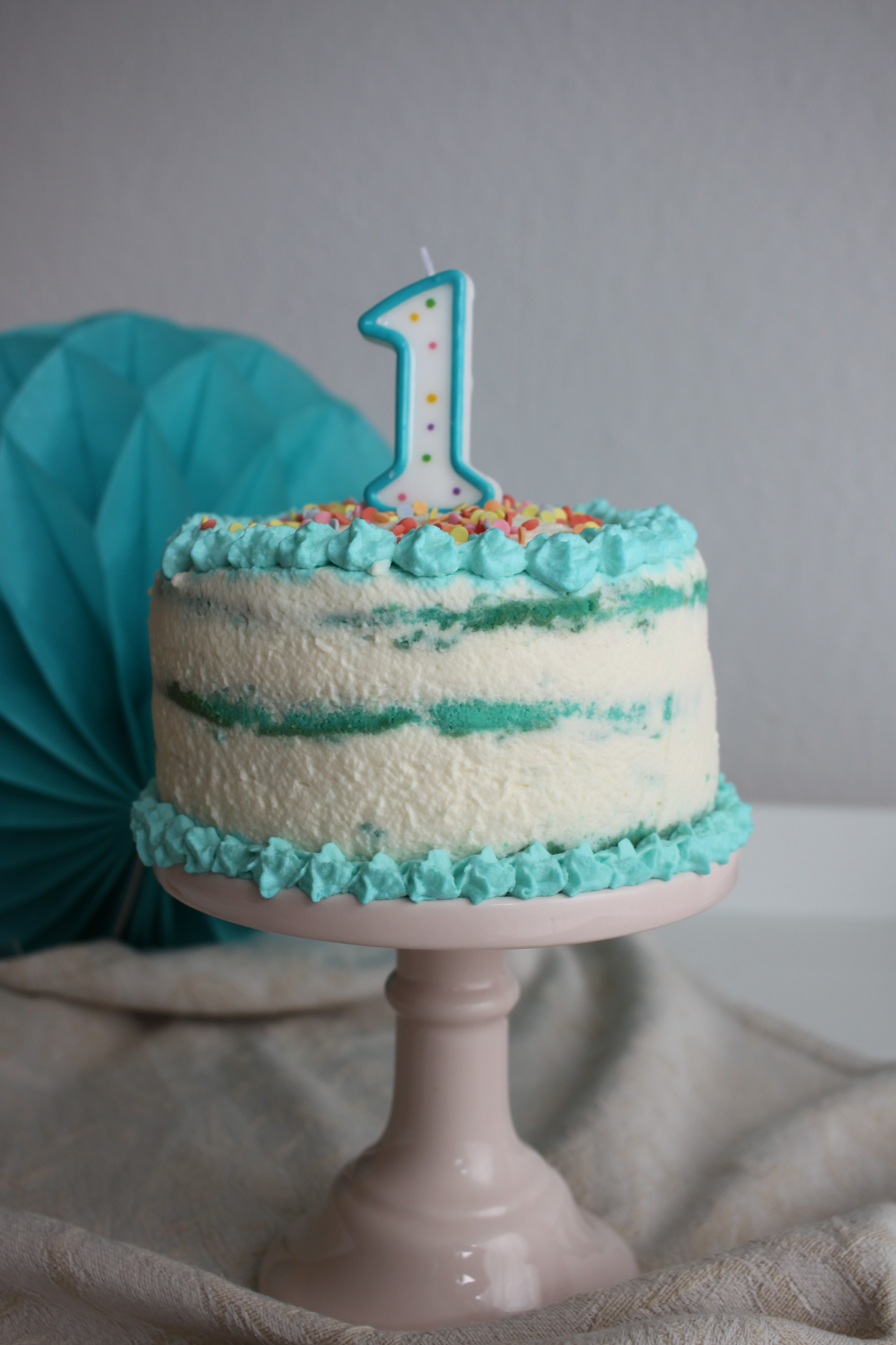 Cake smash Torten selbst herstellen
