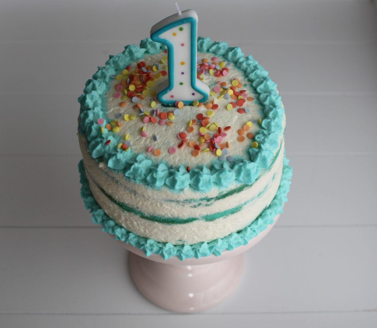 Cake Smash Torte, ganz einfach selbst herstellen