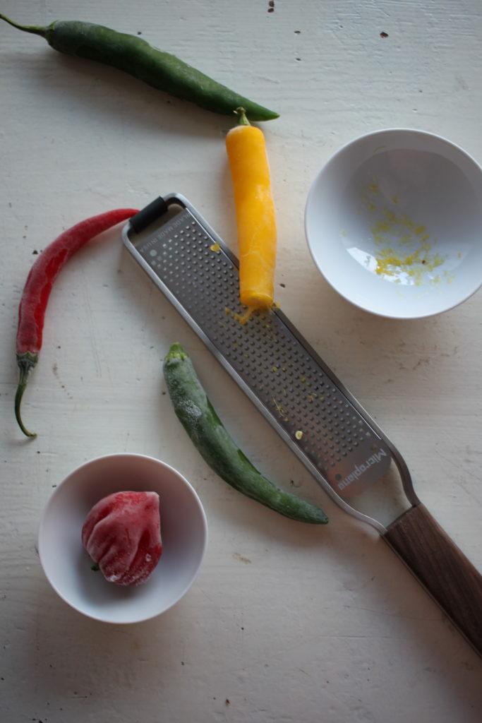 So hast Du immer frische Chilis
