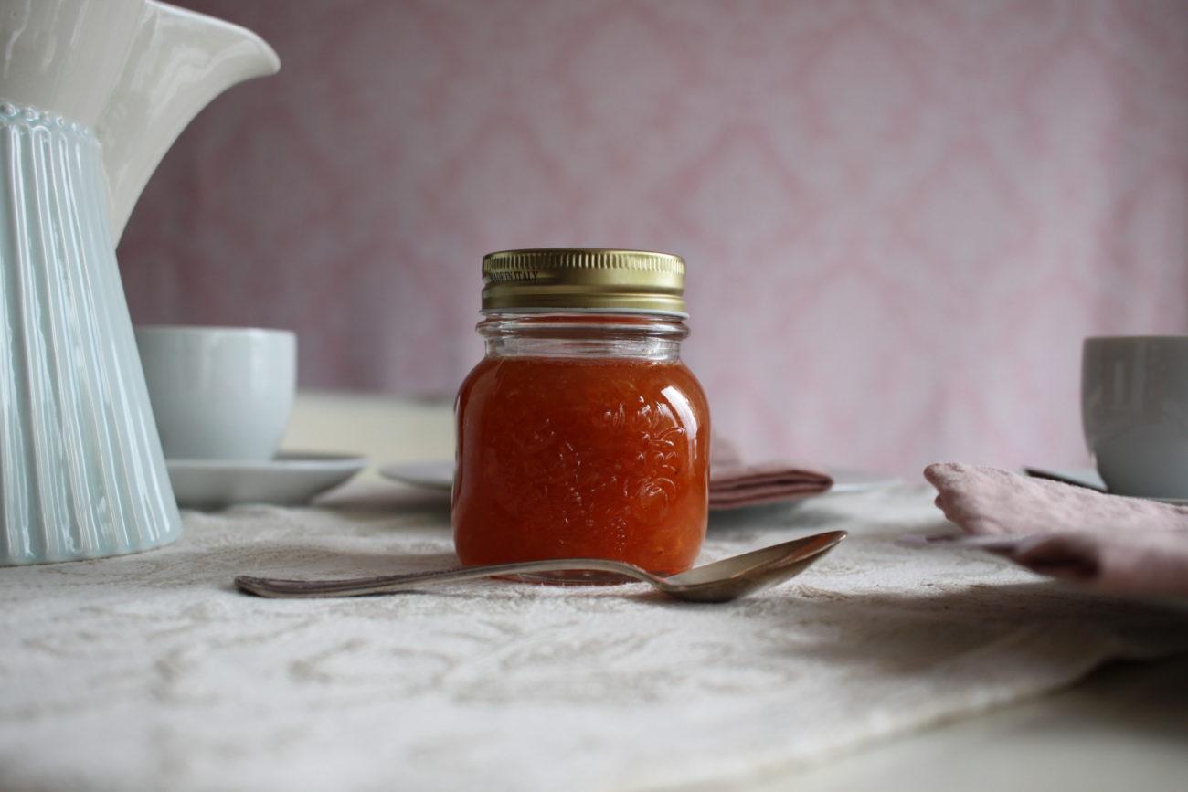 Aprikosen-Kirsch Fruchtaufstrich oder doch Marmelade?