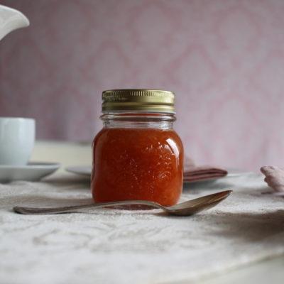 Aprikosen-Kirsch Fruchtaufstrich