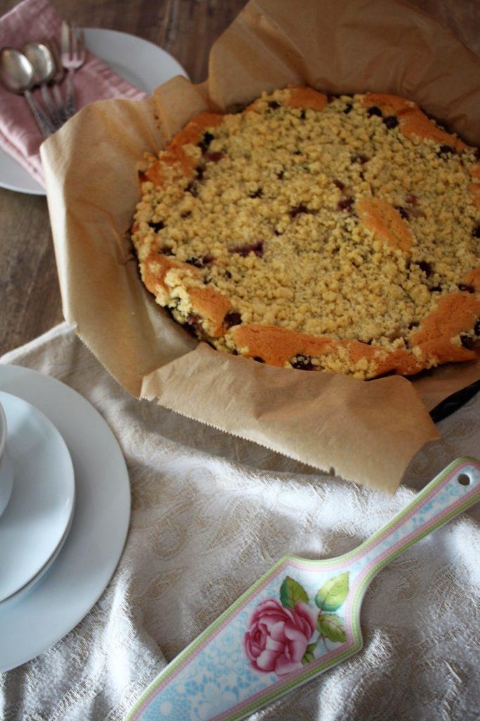 Weintrauben-Streuselkuchen