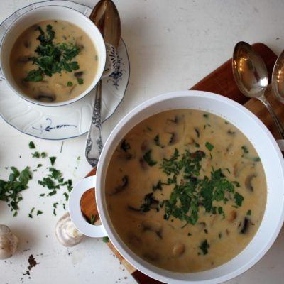 Champignon-Cremesuppe