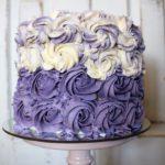 Cake smash | Lila Röschen Torte
