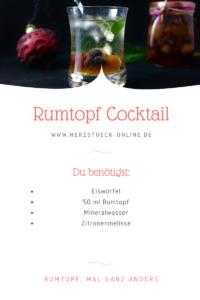 Rumtopf Cocktail