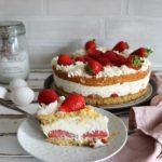 Erdbeer-Joghurt Torte - Backen ohne Mehl