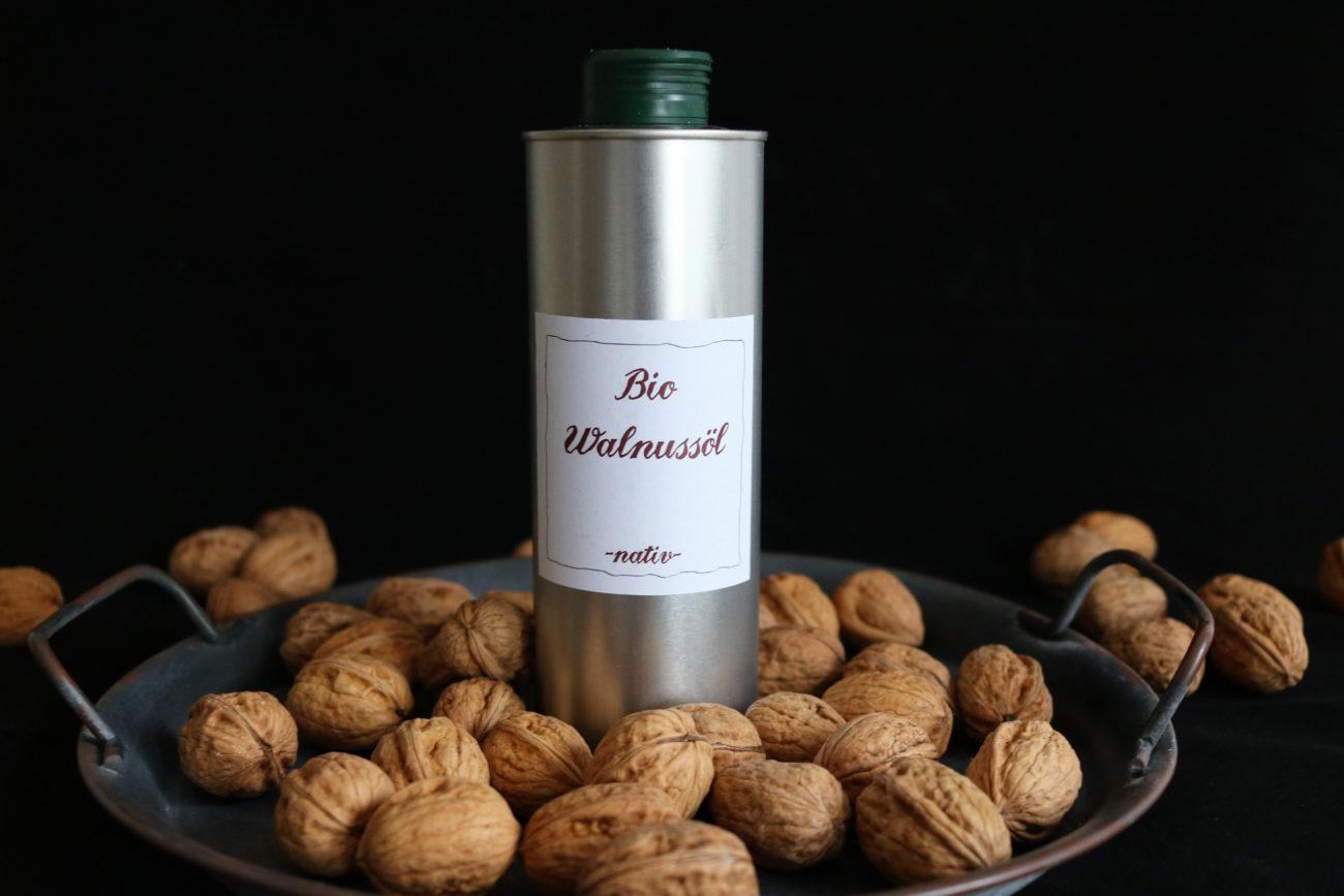 Bio Walnussöl Hof Windkind
